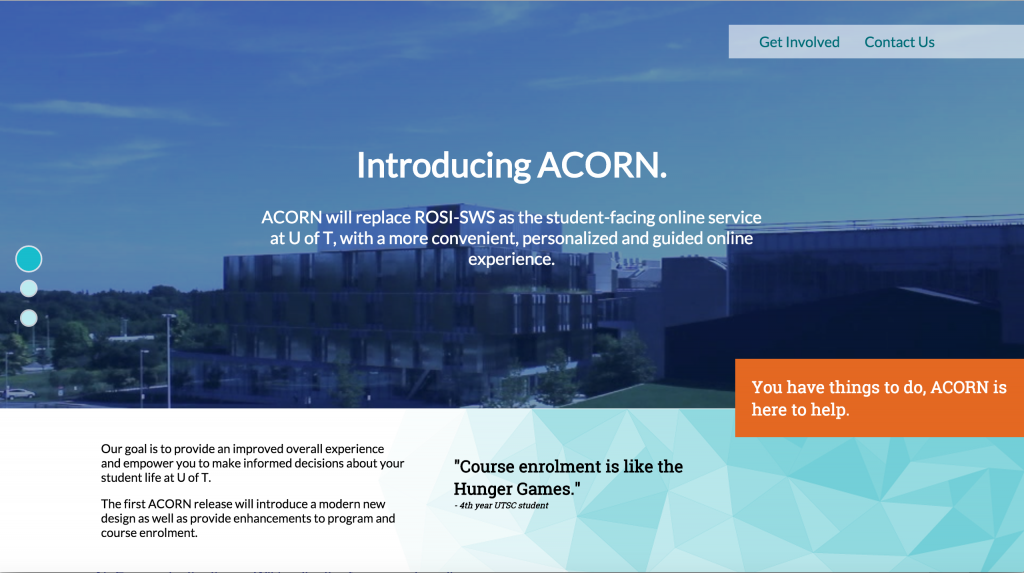 Introducing ACORN screenshot